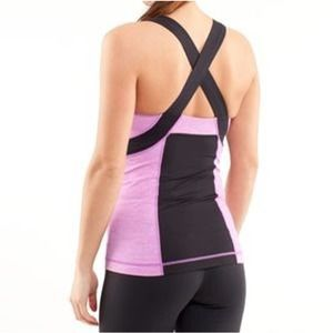 Lululemon Push Your Limits Violet Tank 6